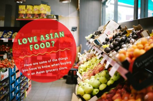 Buying in an Asian Grocery