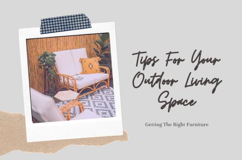 Shopping For Furniture For Your Outdoor Space